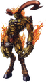 FFT0 Ifrit Concept Art