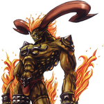 FFT0 Ifrit Concept Art.png