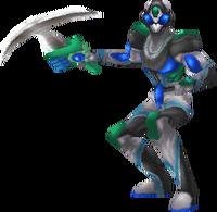 Un soldato cyborg