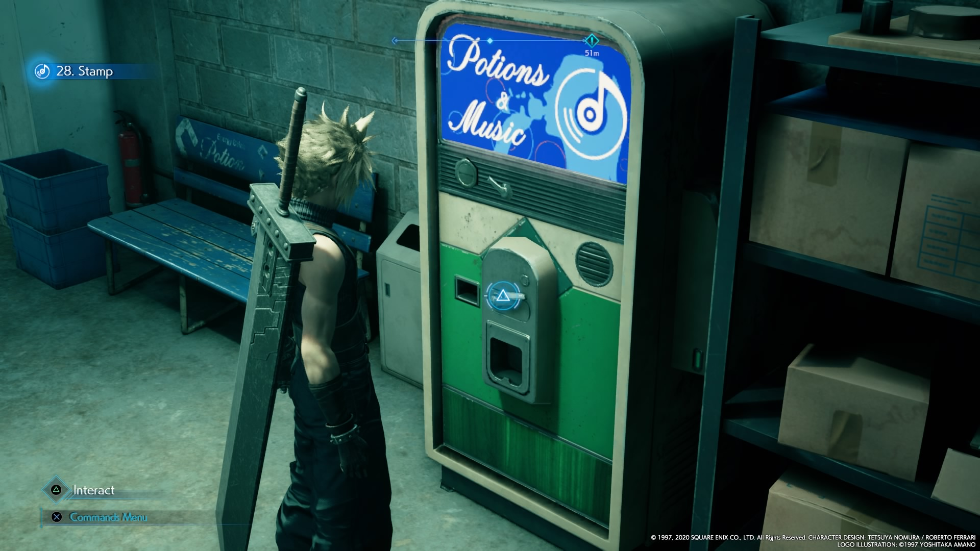 Final Fantasy VII Remake shops
