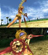 Rikku Thief Victory Pose