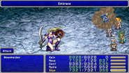 FF4PSP Enemy Ability Embrace