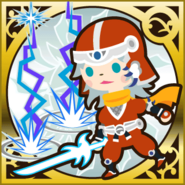FFAB White Fang - Warrior of Light Legend SR