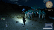 Iseultalon hunt from FFXV