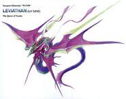 Leviathan FFIX Art 1