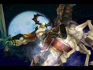Odin's Zantetsuken from Final Fantasy IX