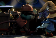 Puck and Vivi sneak into the play in FFIX