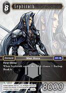 Sephiroth 1-186L from FFTCG Opus
