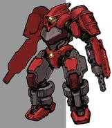 Armored Shock Trooper artwork for FFVII Remake