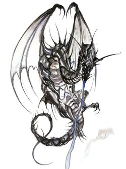 Bahamut Artwork Yoshitaka Amano (Final Fantasy IV).jpg