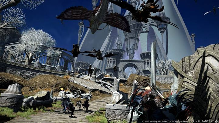 Final Fantasy XIV: Heavensward Official Benchmark