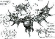 Red Bat FFVIII Sketch