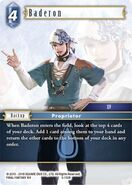 Baderon 5-132R from FFTCG Opus