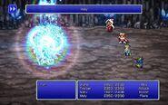 DEV using Holy from FFIII Pixel Remaster