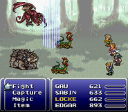 FFVI SNES Royal Shock