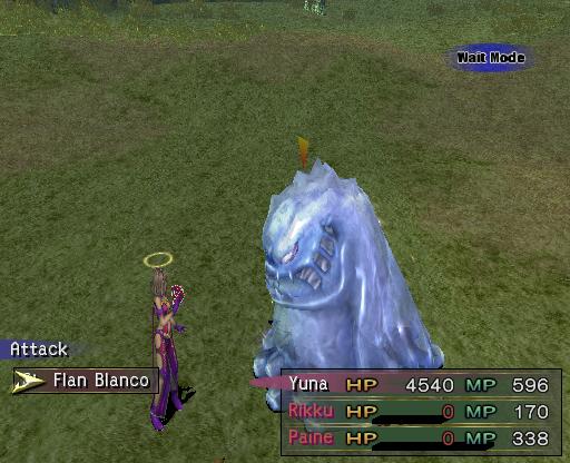 Final Fantasy X-2 statuses