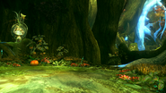 FFXIII-2 Sunleth Waterscape 300 AF - Forest Crossroads