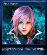 LRFFXIII Steam Card Apocalypse