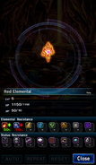 FFBE Red Elemental Analyze