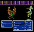 FFIII NES Thunder