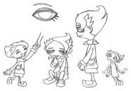 Sagi concept lines 3 for Final Fantasy Unlimited