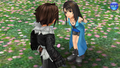 Squall and Rinoa from DFFOO