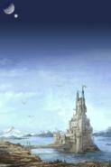 FFIV DS Opening Baron Castle