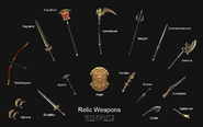 FFXI Relic Weapons