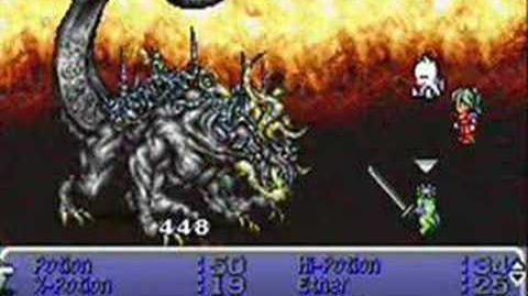 Final Fantasy VI Psycho Cyan vs Omega Weapon