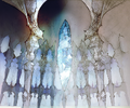 Crystal Dome prologue artwork for Final Fantasy III 3D