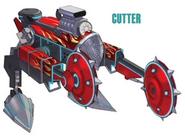 Cutter artwork for FFVII Remake
