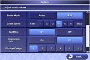 FFIV iOS Menu - Settings