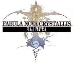 Fabula Nova Crystallis: Final Fantasy logo.