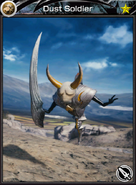 Mobius - Dust Soldier (Earth) R1 Ability Card