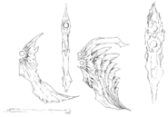 Omega's Fin concept for Final Fantasy Unlimited