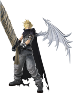 DFFNT Cloud's Kingdom Hearts Costume C