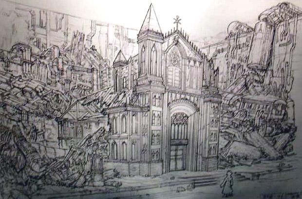 Final Fantasy VII: Advent Children concept art
