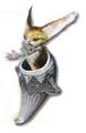 FFXIII2 enemy ForkedCat