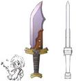 Final Fantasy IX - Dagger Art
