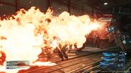 Flamethrower from FFVII Remake
