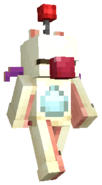 Minecraft FFXV Moogle Plushie