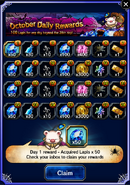 FFBE October 2016 Daily Rewards (Global)