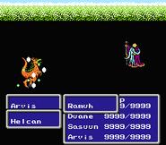 FFIII NES God's Thunder