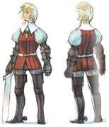 Ingus FFIII DS Yoshida Art