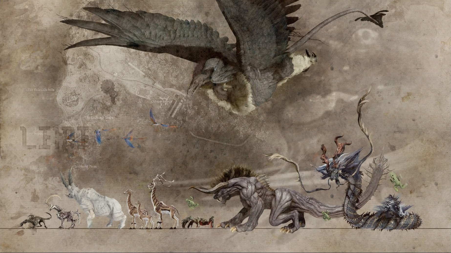 Бестиарий Final Fantasy XV