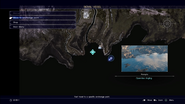 Open-Sea Angling map from FFXV