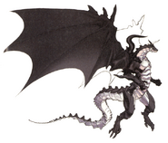 Bahamut FFIV DS Art