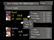 FFVIII Magic Menu 2