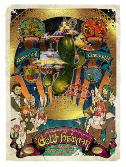 FFXIV Manderville Gold Saucer Poster