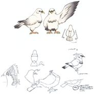 Pigeon FFIX Art